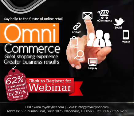 Register to learn the Omni Commerce Experience.