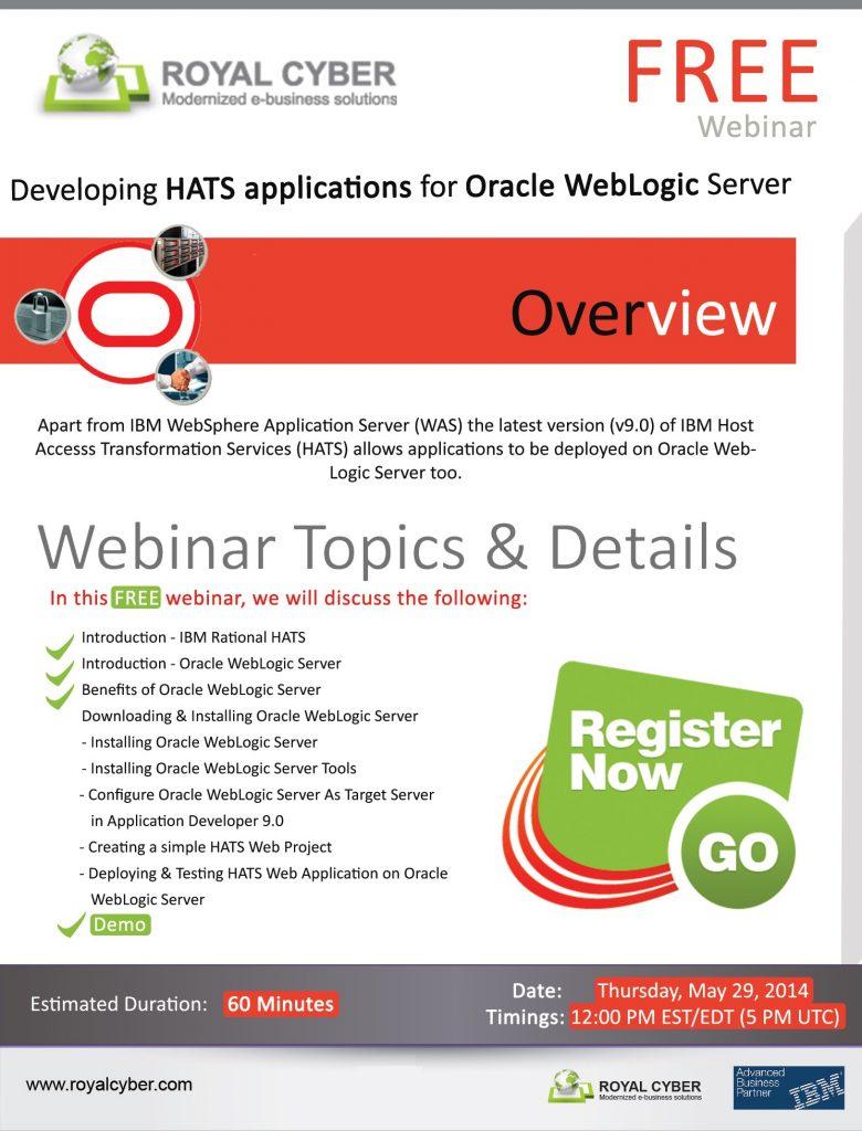 HATS FREE Oracle Weblogic