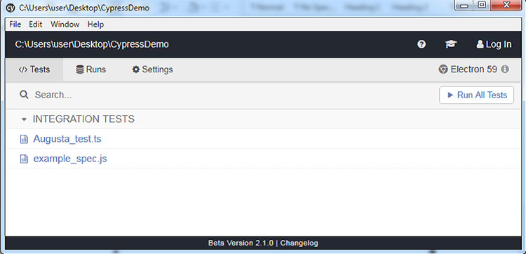 Cypress-Demo-v1