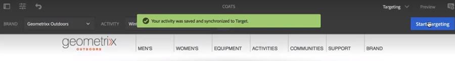 AEM with Adobe Target img27