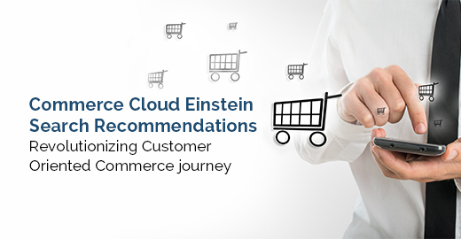 Commerce Cloud Einstein Search Recommendations Blog Banner