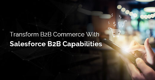Transform B2B Commerce With Salesforce B2B Capabilities