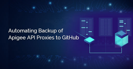 Automating backup of Apigee API Proxies to GitHub