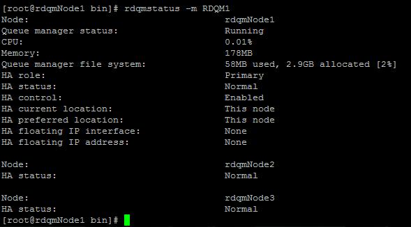 Status of RDQM