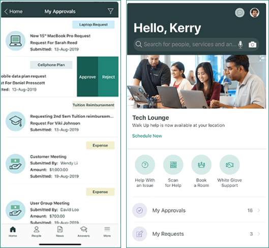 Custom mobile branding with servicenow v3