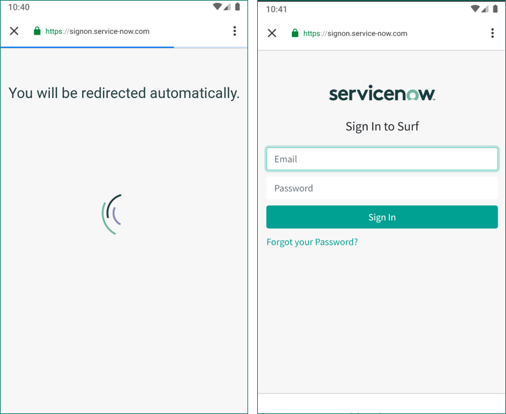 Custom mobile branding with servicenow v5