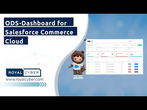 ODS-Dashboard for Salesforce Commerce Cloud