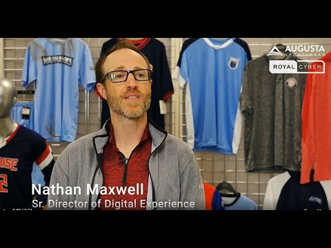 "Augusta Sportswear Brands ""Shares their Success Story"" with Royal Cyber 