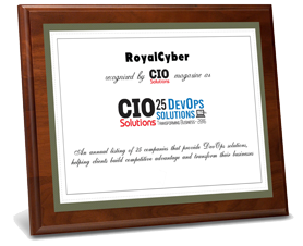 Royal Cyber Recognized by CIO Solutions Magazine