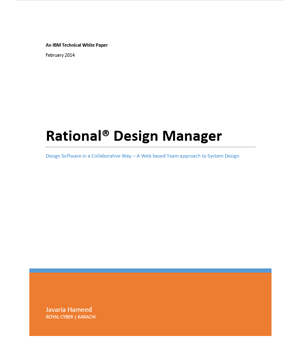 Rational Design Manager