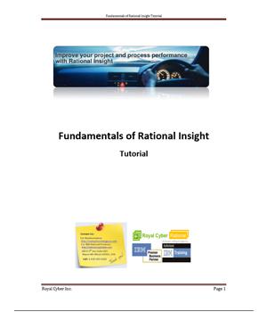 Rational Insight Tutorial