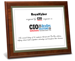 RoyalCyber- CIO Solutions Certificate