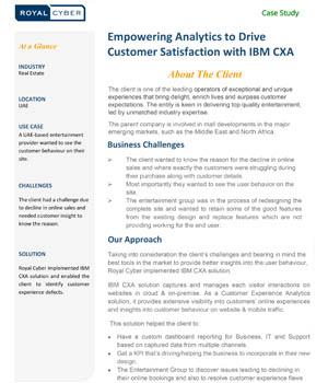 empowering-analytics-to-drive-customer-satisfaction-with-IBM-CXA