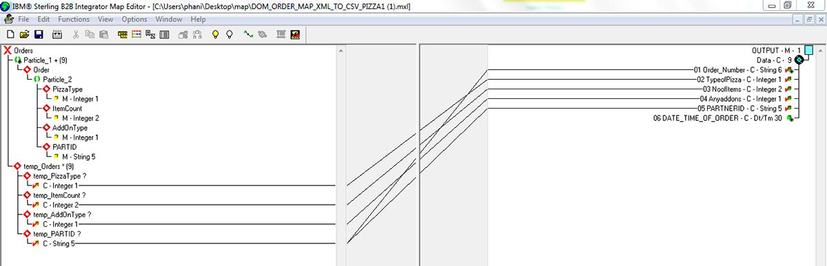 IBM Sterling B2B Map Editor