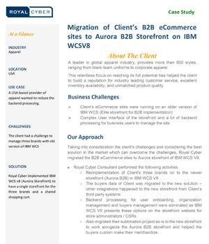 Migration Ecommerce