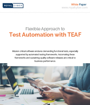 flexible approach to test automation