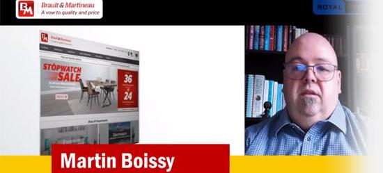 Martin Boissy tesitemonial