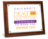 Chicago Best and Brightest Award