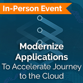 Modernize Applications Event Page Thumbnail