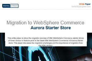 migration to websphere commerce aurora starter store whitepaper