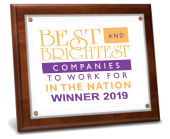 2019 Best and Brightest Companies to Work For in the Nation