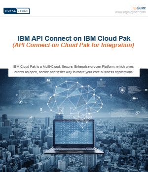 thumbnail IBM API Connect on IBM Cloud Pak E-guide