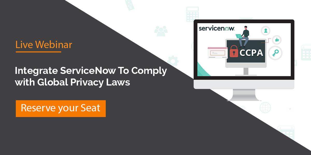 CCPA ServiceNow
