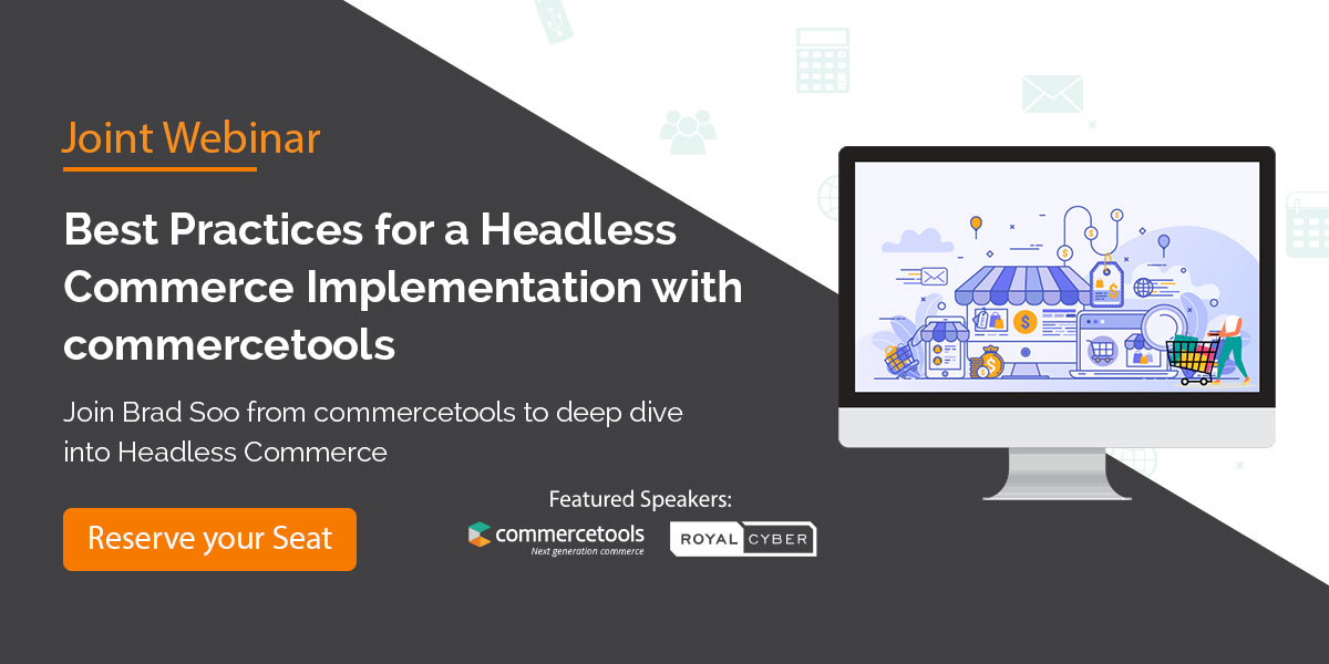 Headless Commerce Implementation by commercetools