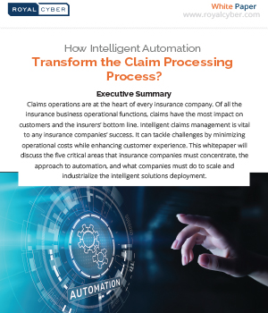 How Intelligent Automation Transform the Claim Processing Process
