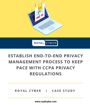 Establish End to End Privacy Management