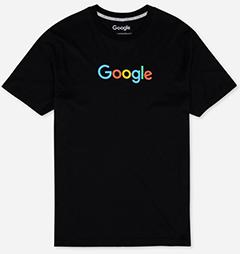 Google Eco Tee Black