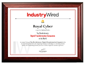 IndustryWired Certificate