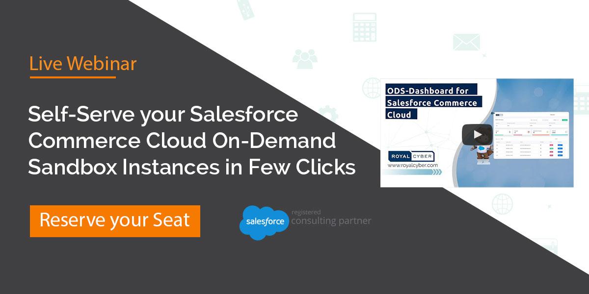 Salesforce Commerce Cloud On-Demand Sandbox