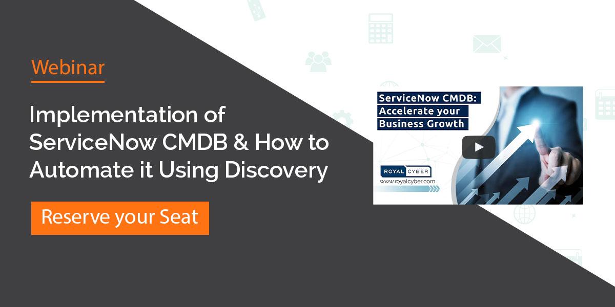 Implementation of ServiceNow CMDB